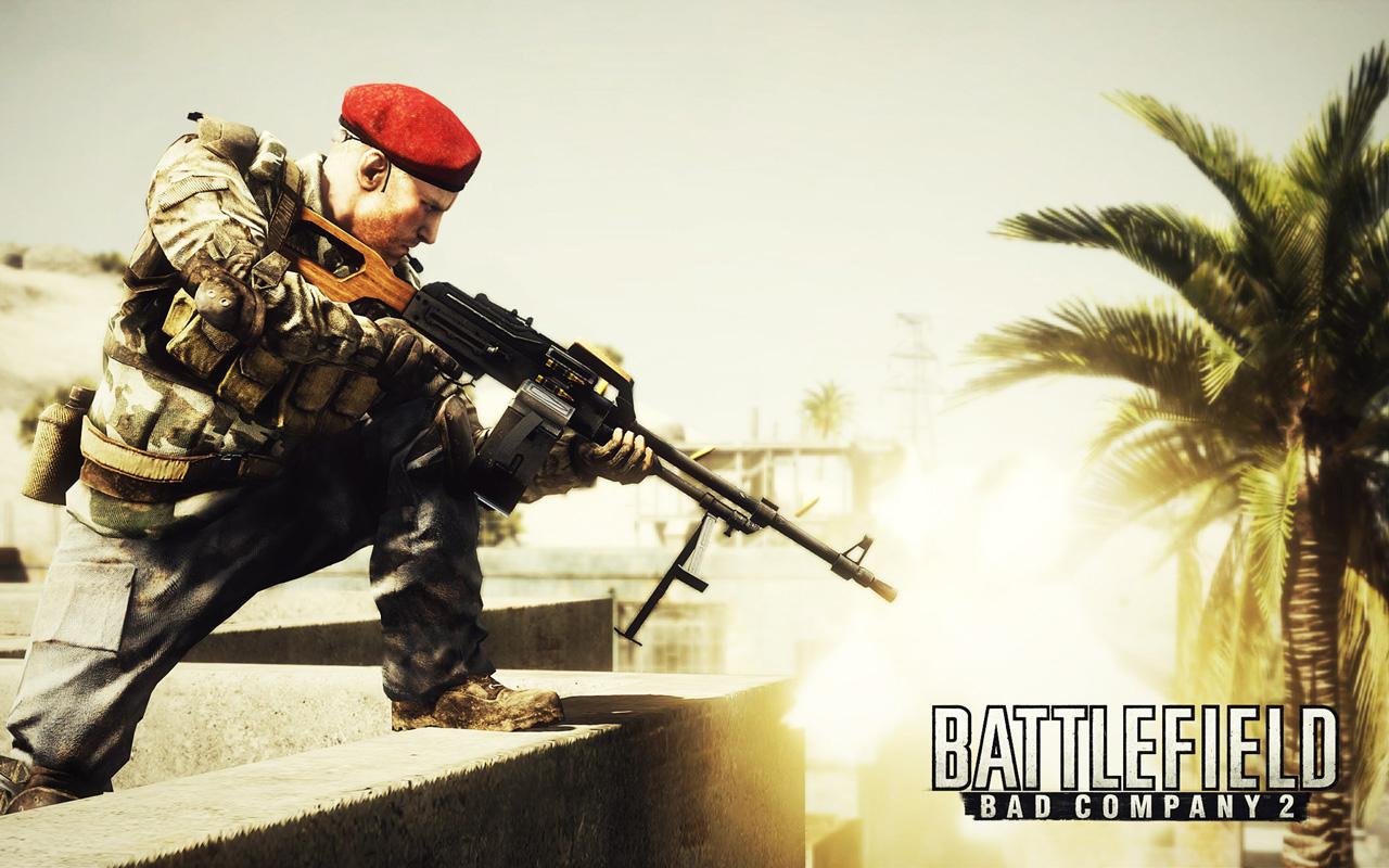 Free Battlefield: Bad Company 2 Wallpaper in 1280x800