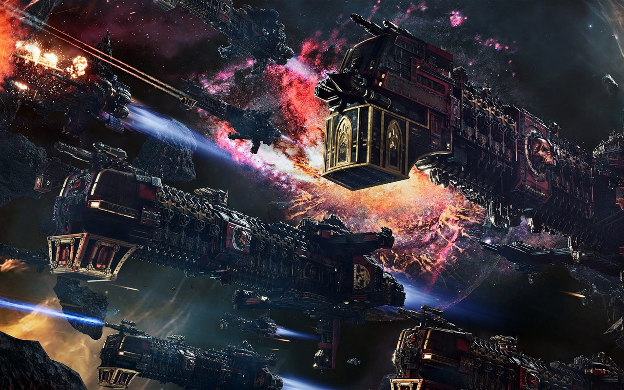 Free Battlefleet Gothic: Armada 2 Wallpaper in 1280x800