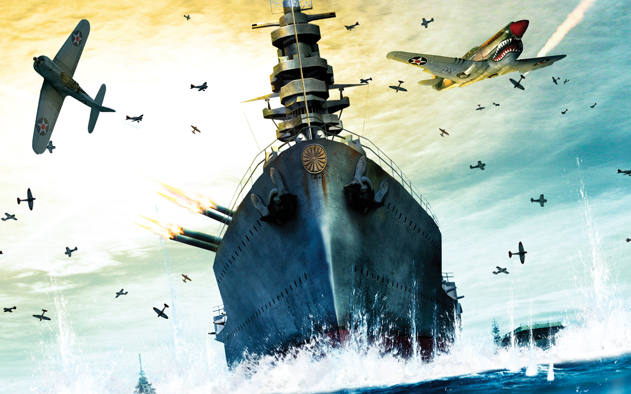 Free Battlestations: Midway Wallpaper in 1280x800