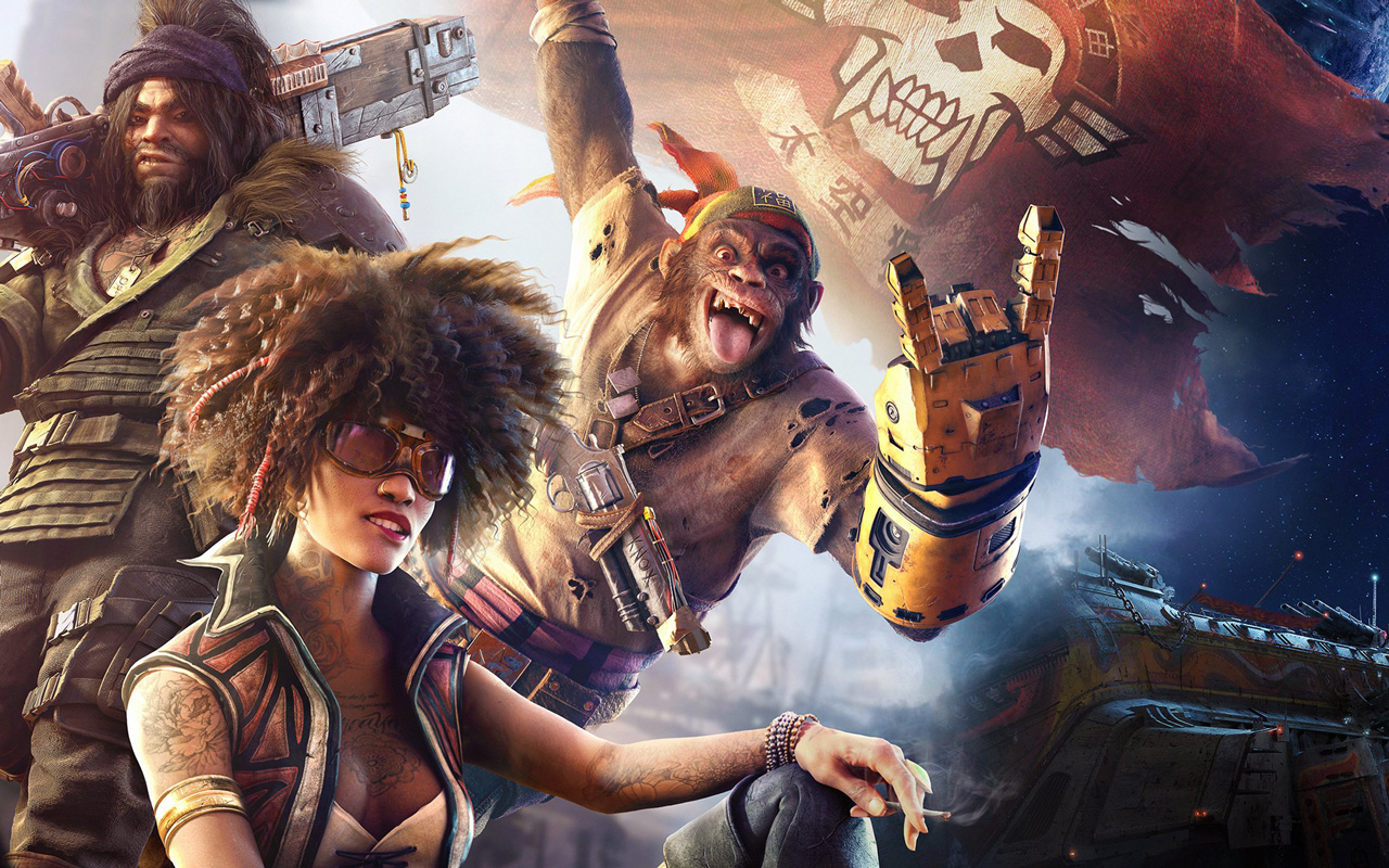 Free Beyond Good and Evil 2 Wallpaper in 1280x800