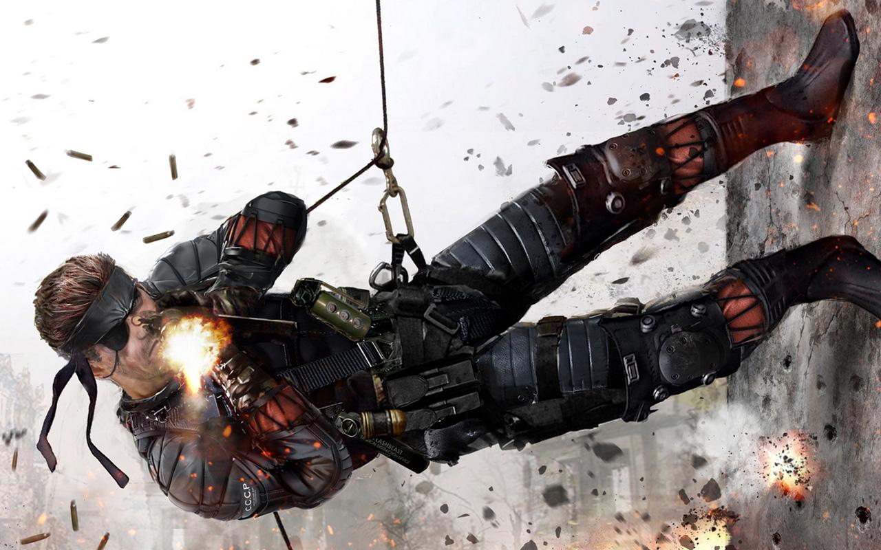 Free Metal Gear Solid Wallpaper in 1280x800