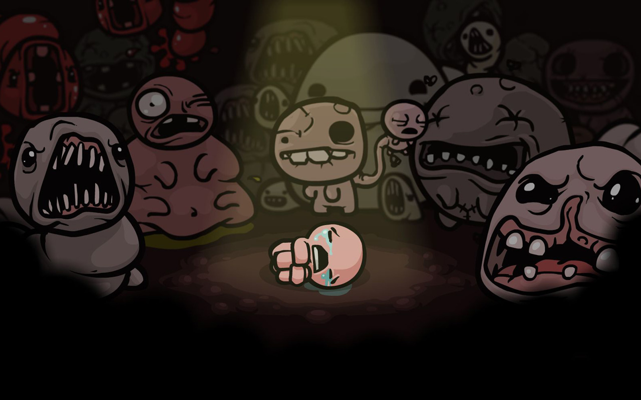 Free The Binding of Isaac Wallpaper in 1280x800