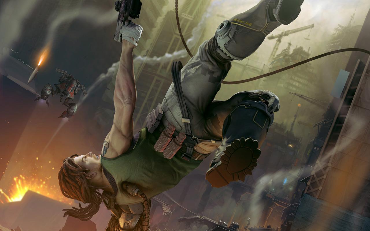Free Bionic Commando Wallpaper in 1280x800