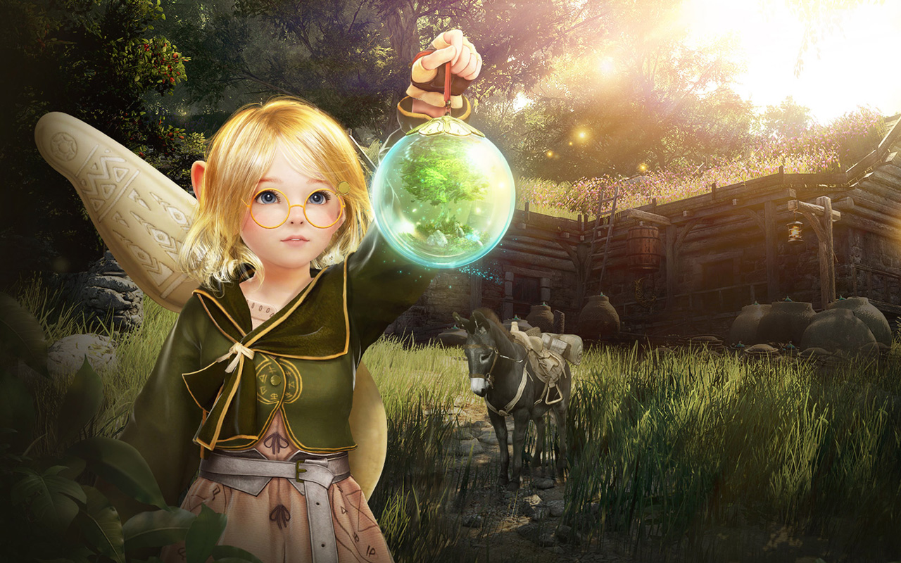 Free Black Desert Online Wallpaper in 1280x800