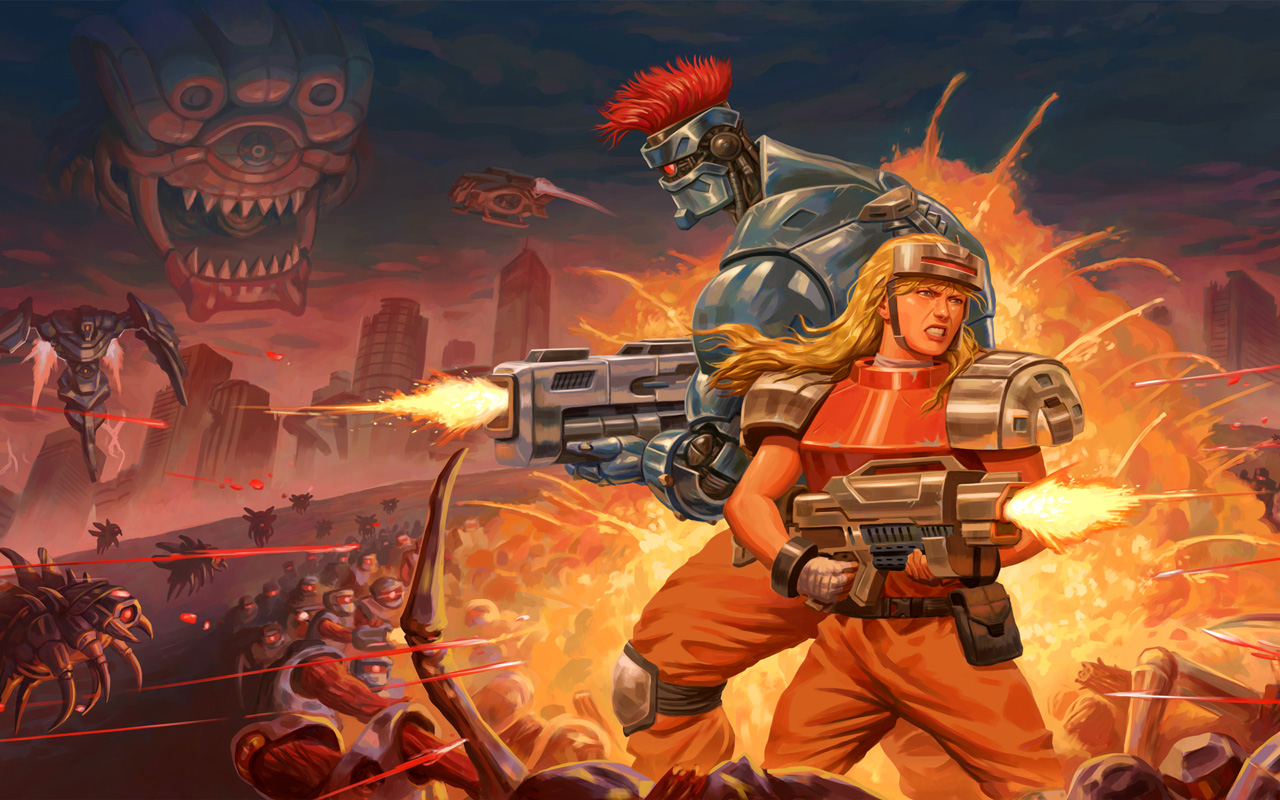 Free Blazing Chrome Wallpaper in 1280x800