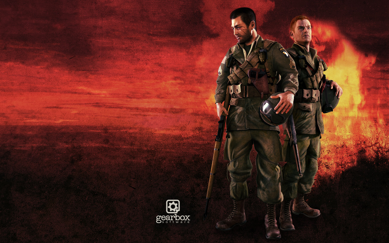 Free Brothers in Arms: Hell's Highway Wallpaper in 1280x800