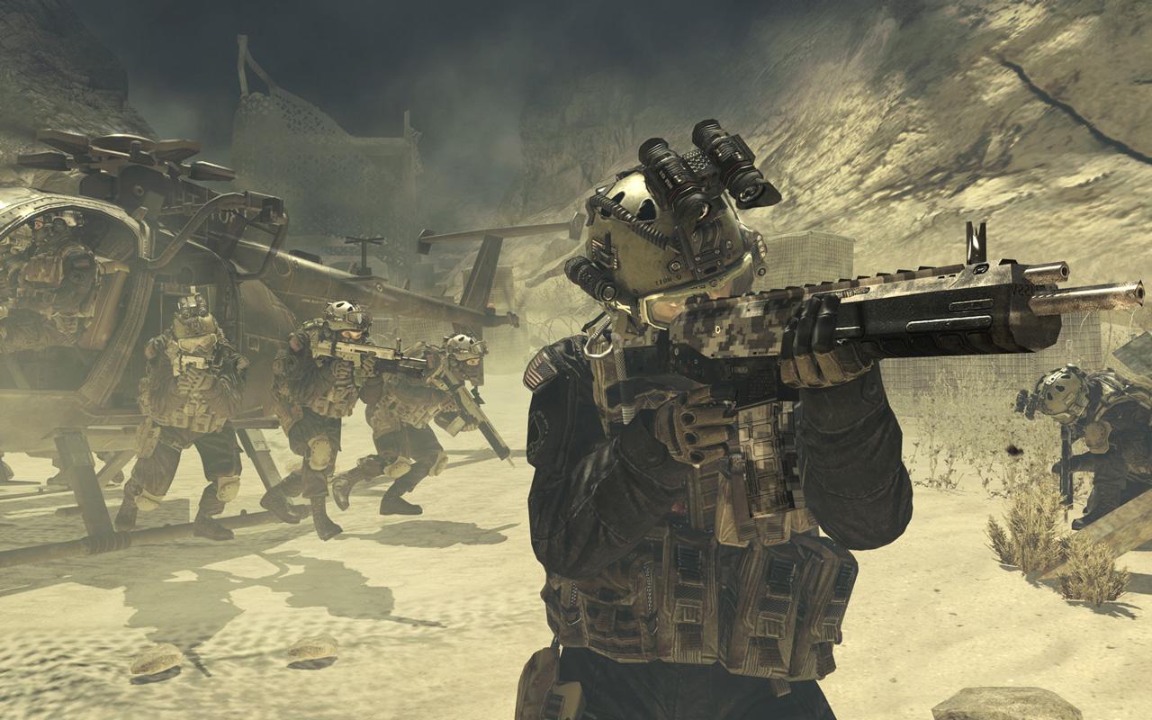 Call of Duty: Modern Warfare 2 Wallpaper in 1280x800