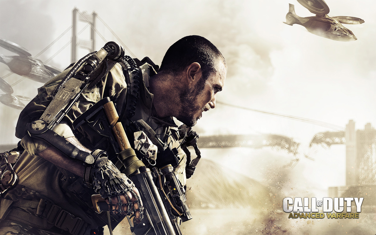 Free Call of Duty: Advanced Warfare Wallpaper in 1280x800