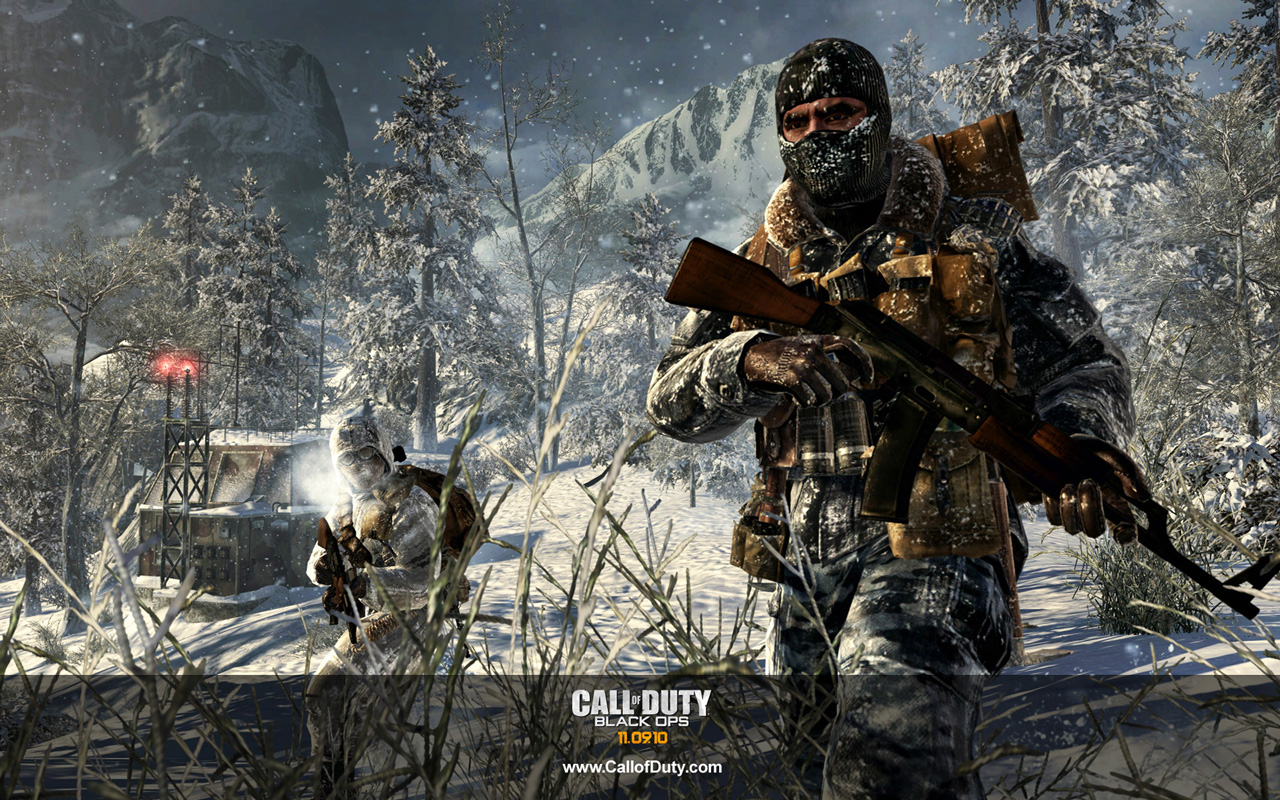 Free Call of Duty: Black Ops Wallpaper in 1280x800