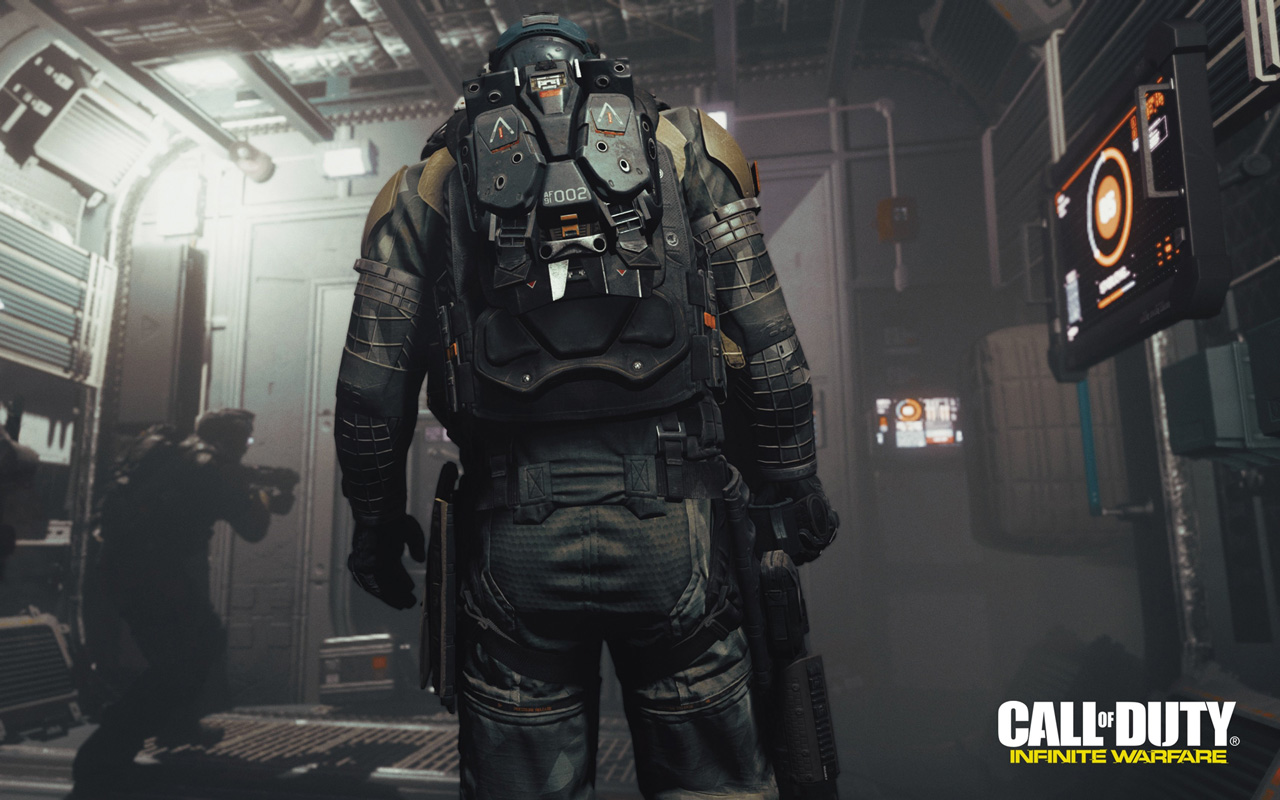 Free Call of Duty: Infinite Warfare Wallpaper in 1280x800