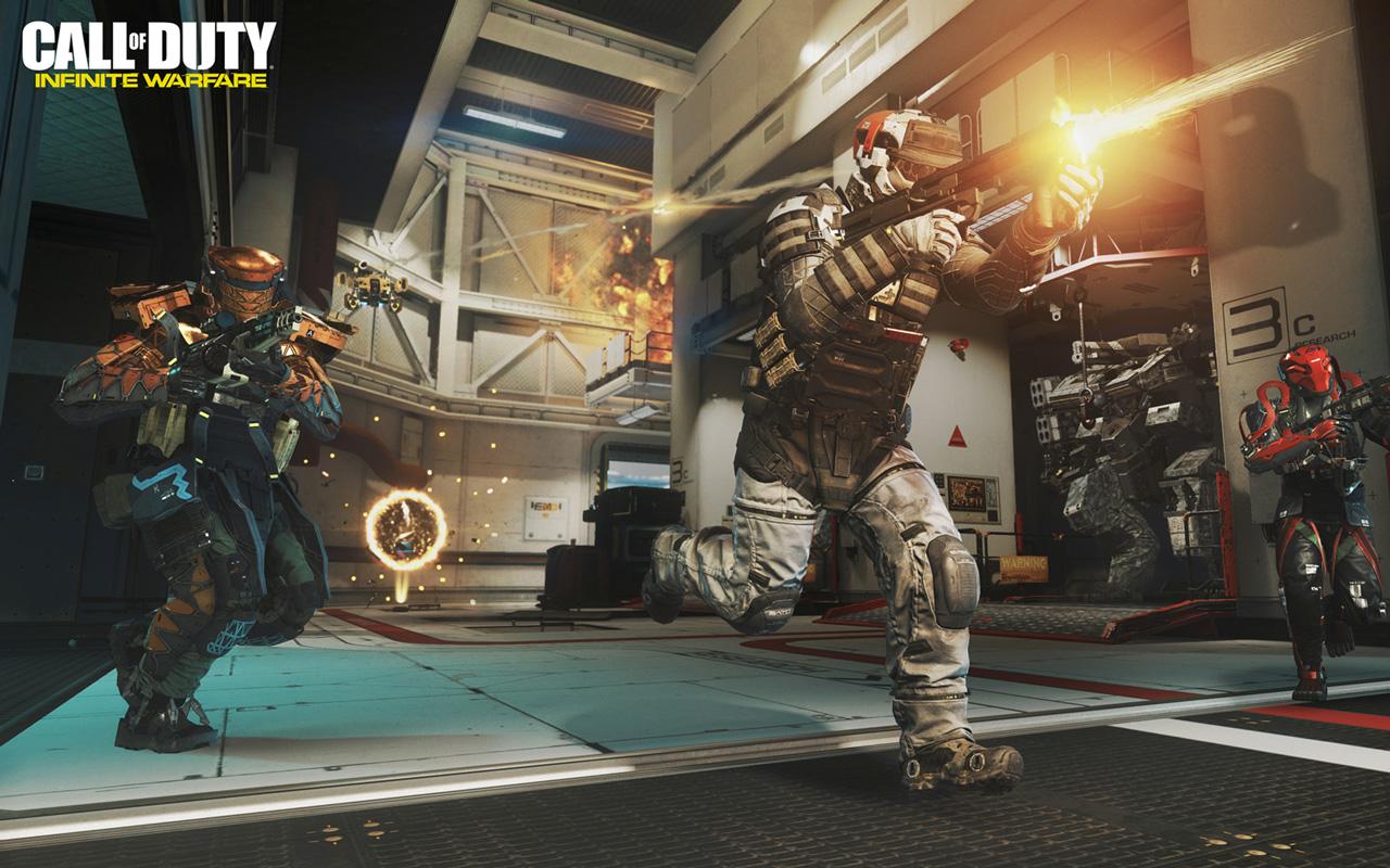 Free Call of Duty: Infinite Warfare Wallpaper in 1280x800