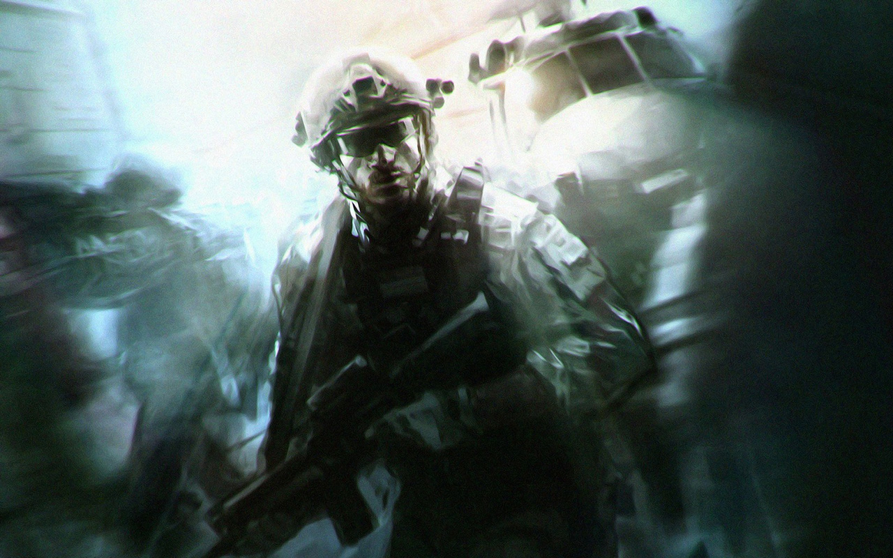 Free Call of Duty: Modern Warfare 2 Wallpaper in 1280x800