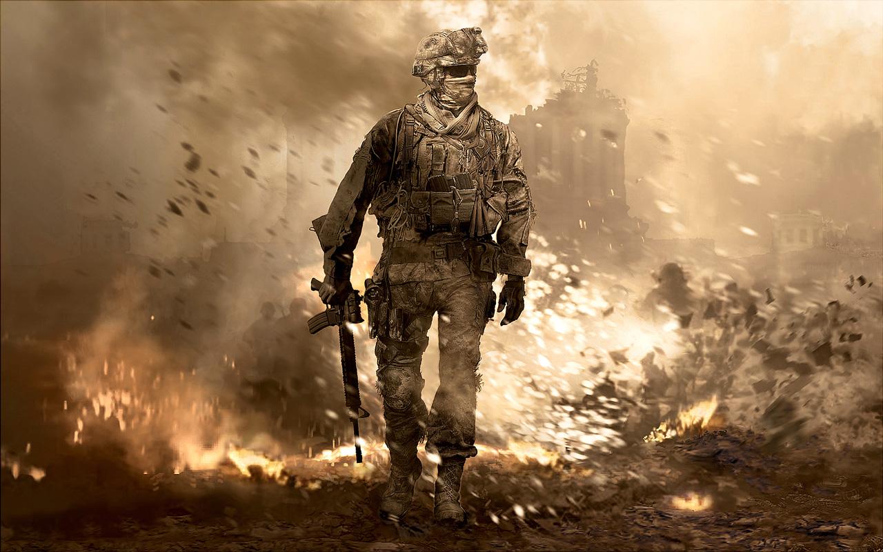 Free Call of Duty: Modern Warfare 2 Wallpaper in 1280x800