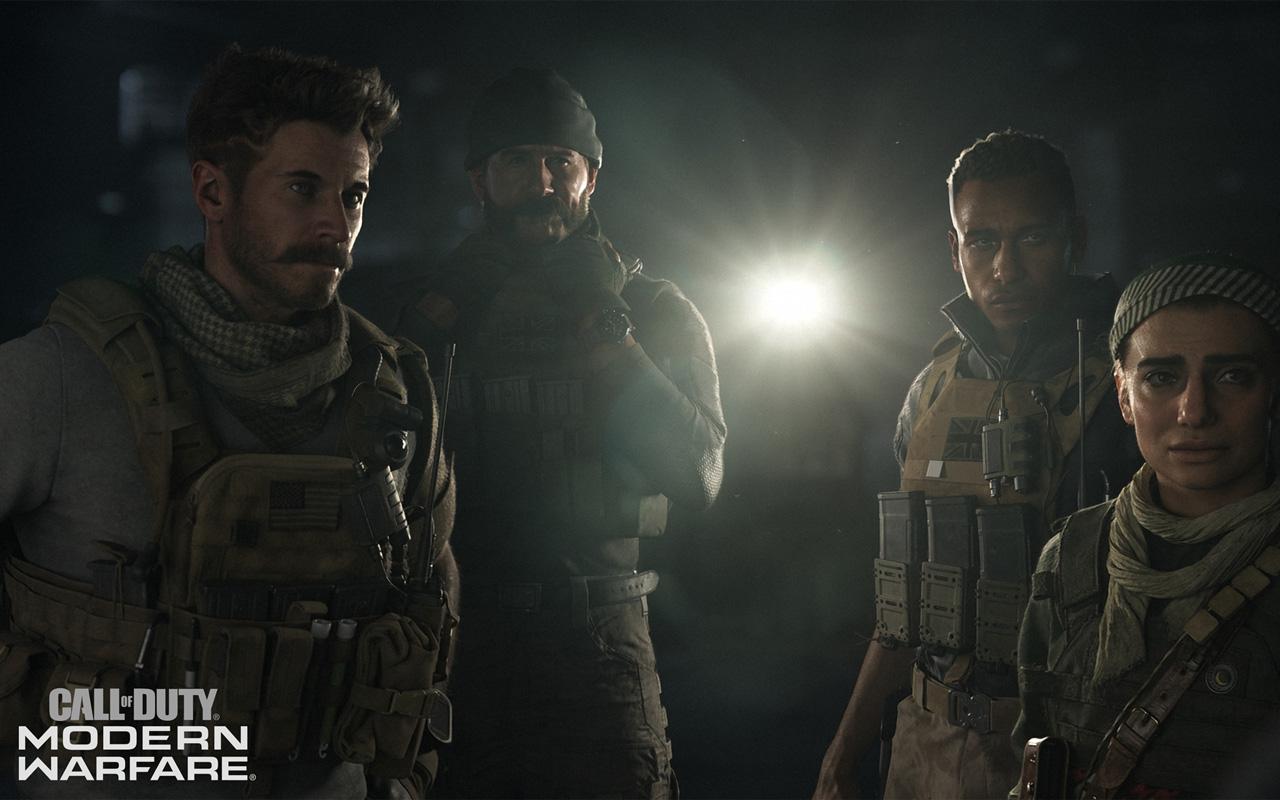 Free Call of Duty: Modern Warfare (2019) Wallpaper in 1280x800