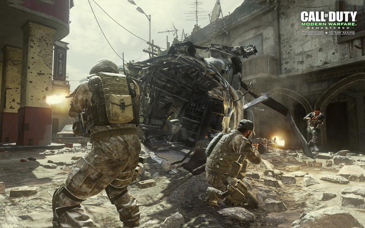 Free Call of Duty: Modern Warfare Wallpaper in 1280x800