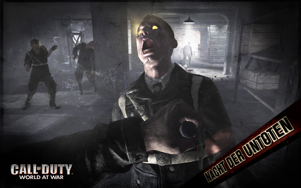 Call of Duty: World at War Wallpaper in 1280x800