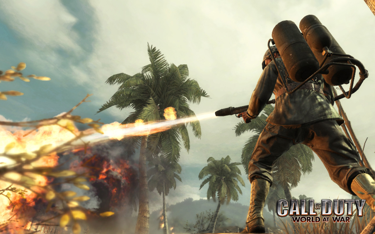 Free Call of Duty: World at War Wallpaper in 1280x800