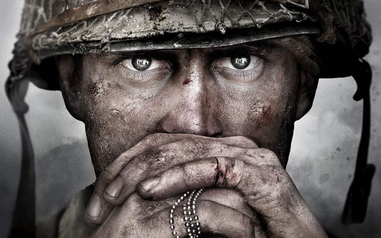 Free Call of Duty: WWII Wallpaper in 1280x800
