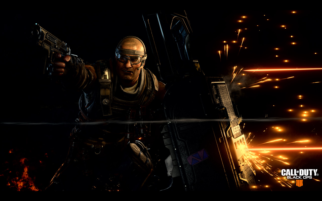 Free Call of Duty: Black Ops 4 Wallpaper in 1280x800