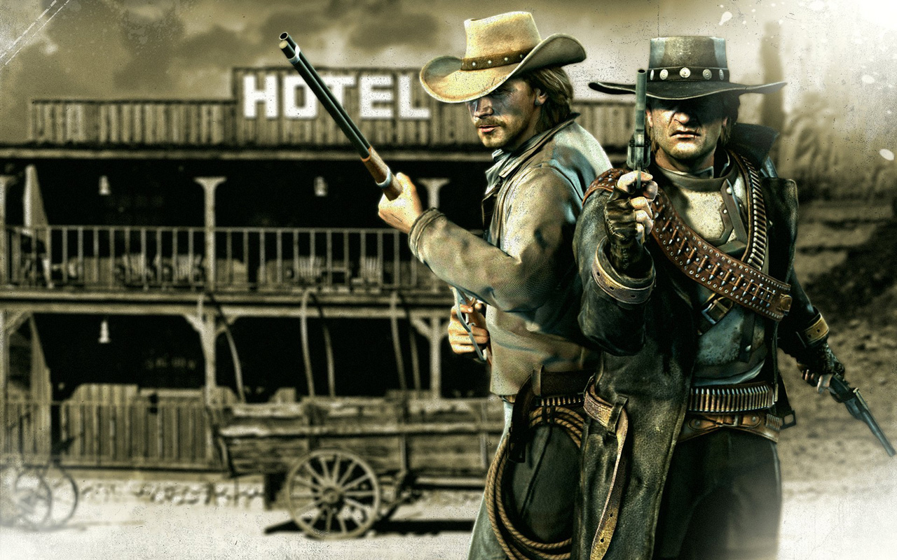 Free Call of Juarez: Bound in Blood Wallpaper in 1280x800