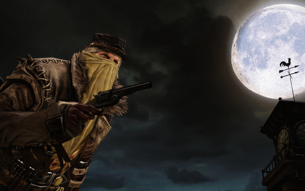 Free Call of Juarez: Gunslinger Wallpaper in 1280x800