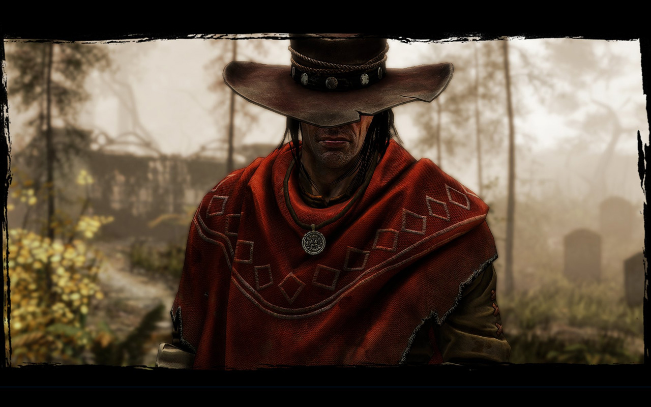 Free Call of Juarez: Gunslinger Wallpaper in 1280x800