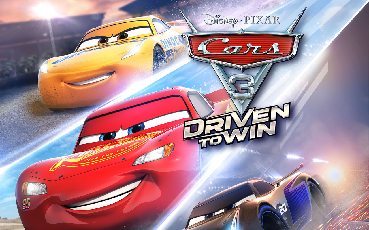 Free Cars 3: Driven to Win Wallpaper in 1280x800