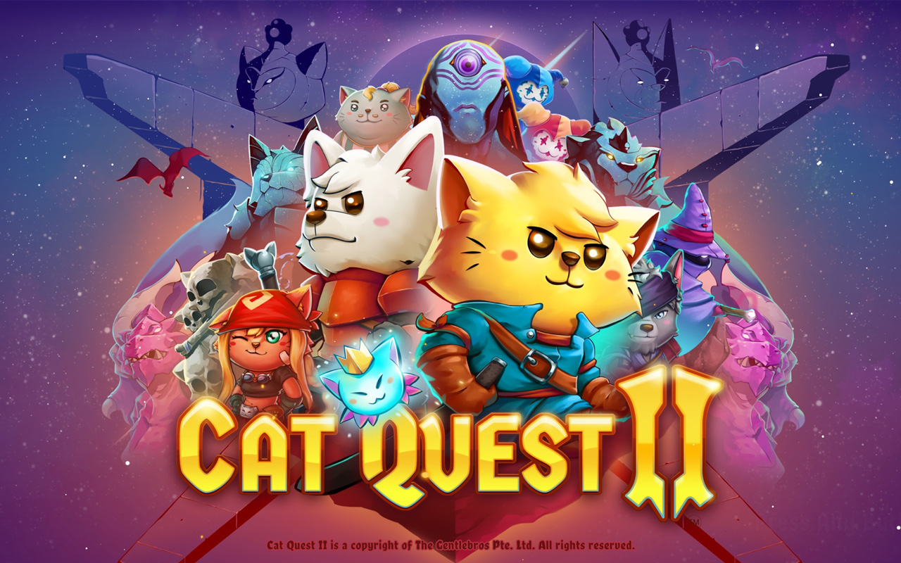 Free Cat Quest II Wallpaper in 1280x800