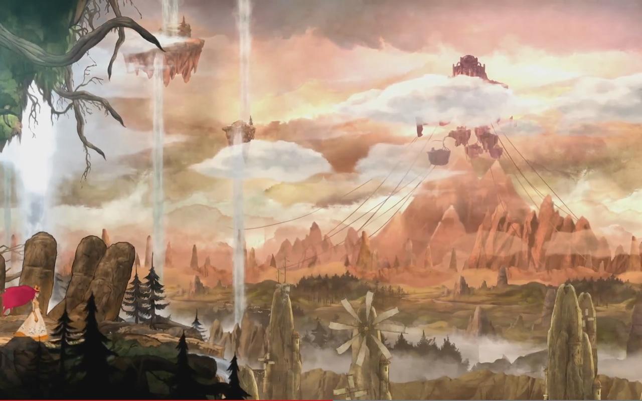 Free Child of Light Wallpaper in 1280x800