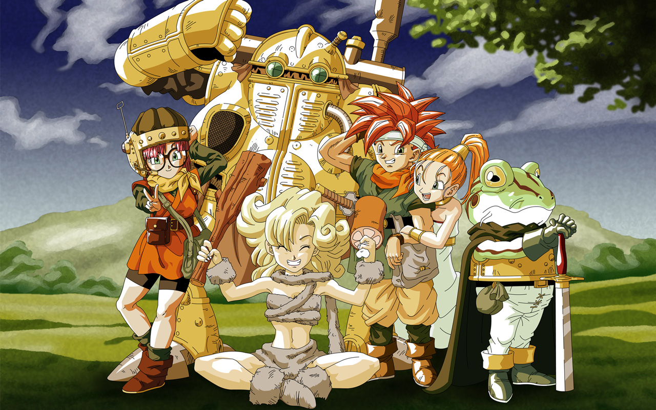 Free Chrono Trigger Wallpaper in 1280x800