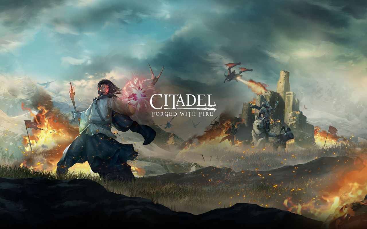 Free Citadel: Forged With Fire Wallpaper in 1280x800