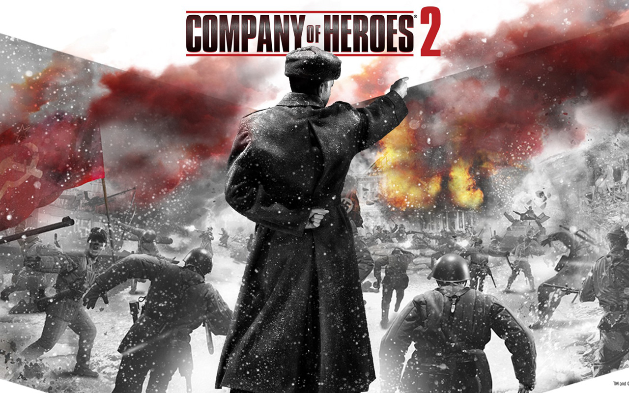 Free Company of Heroes 2 Wallpaper in 1280x800