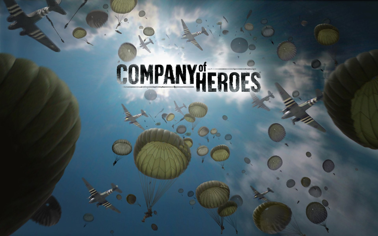 Free Company of Heroes Wallpaper in 1280x800