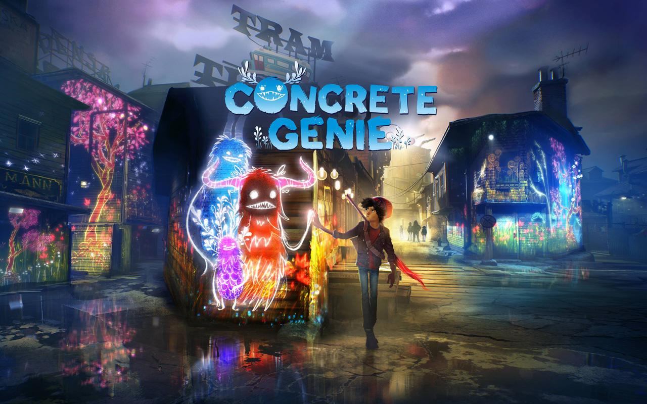 Free Concrete Genie Wallpaper in 1280x800