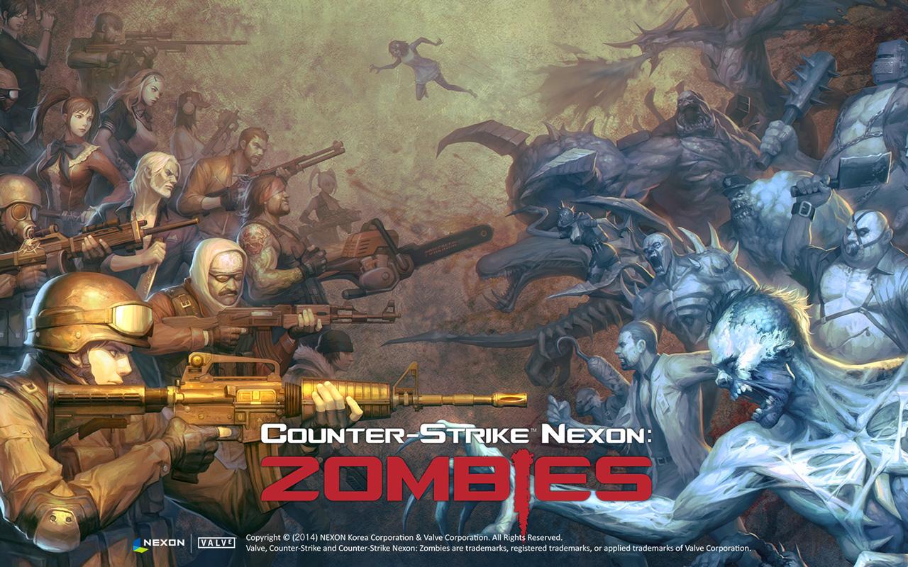 Free Counter-Strike Nexon: Zombies Wallpaper in 1280x800