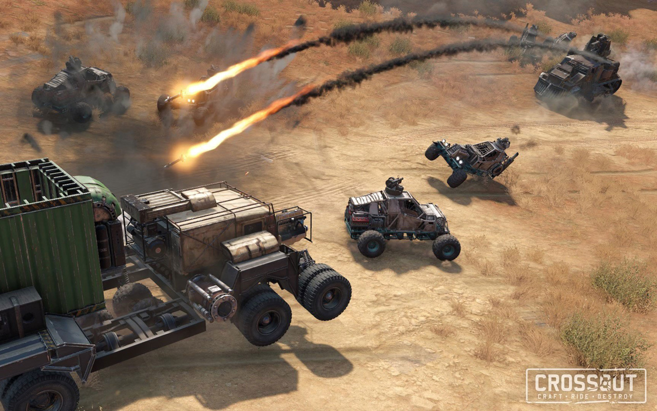 Free Crossout Wallpaper in 1280x800
