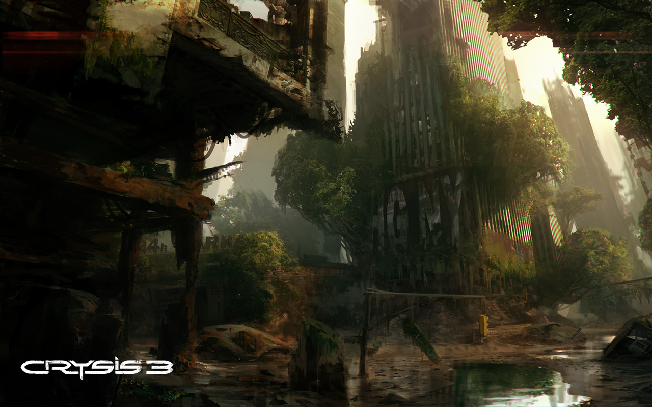 Crysis 3 Wallpaper in 1280x800