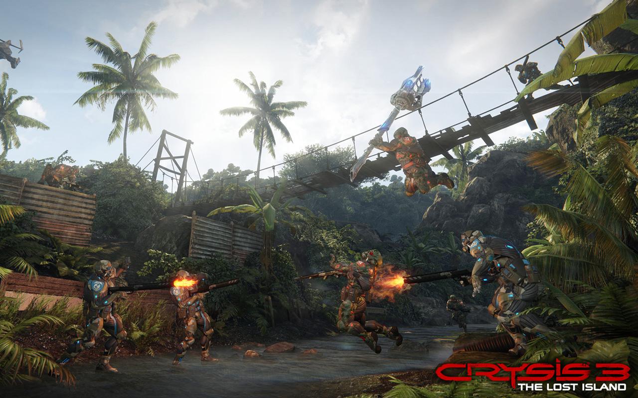 Crysis 3 Wallpaper in 1280x800