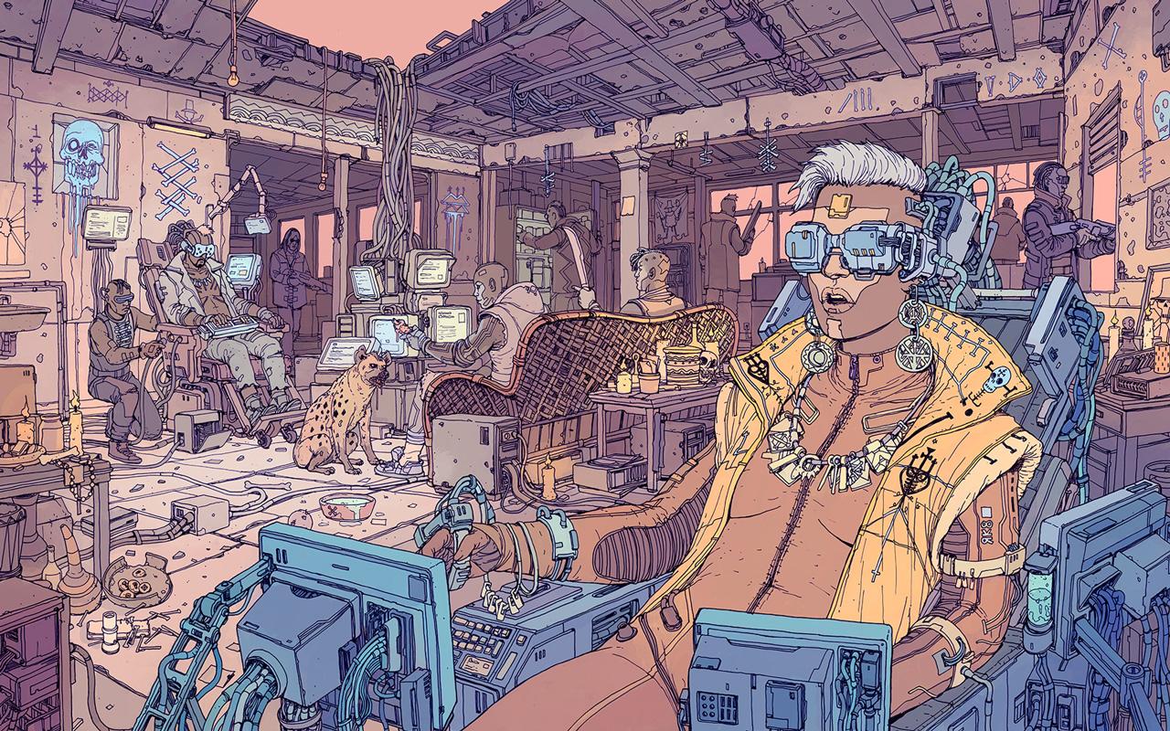Cyberpunk 2077 Wallpaper in 1280x800