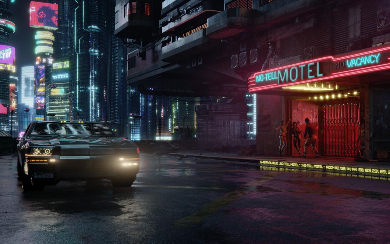 Free Cyberpunk 2077 Wallpaper in 1280x800