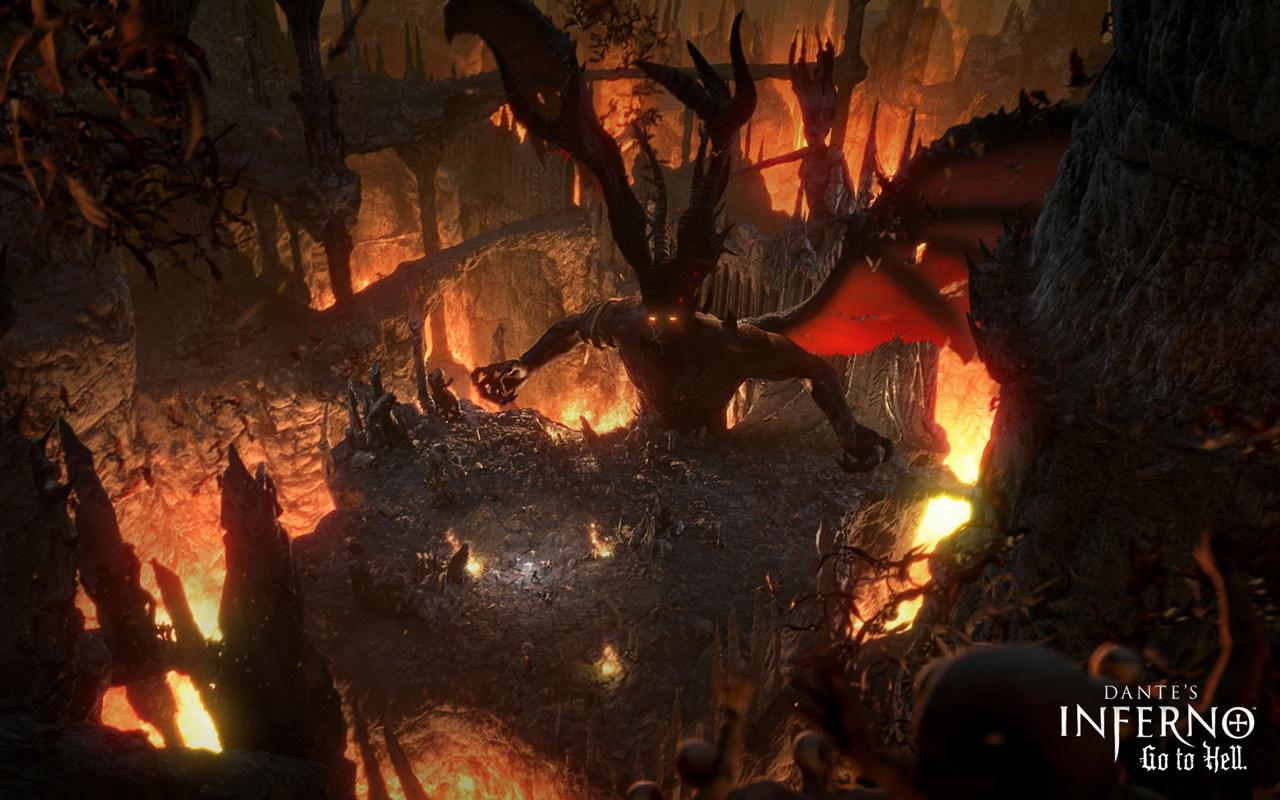Free Dante's Inferno Wallpaper in 1280x800