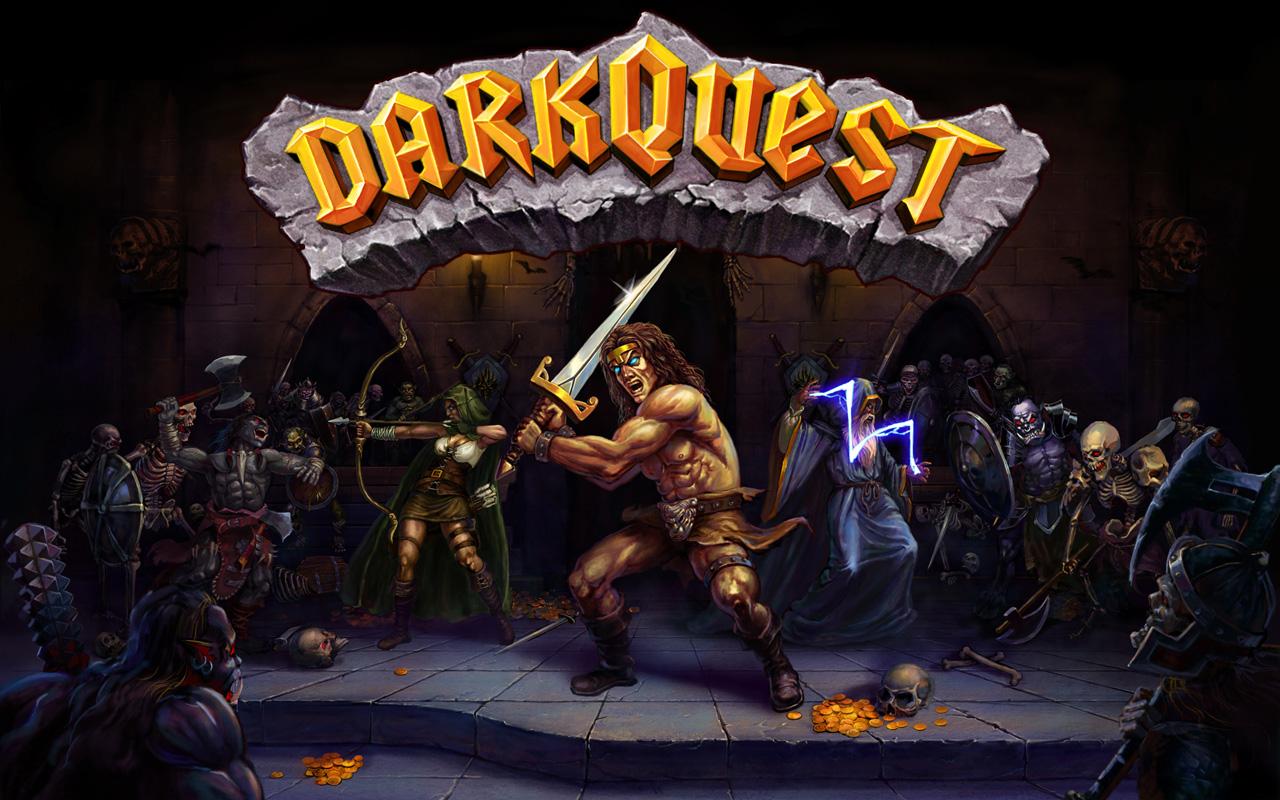 Free Dark Quest Wallpaper in 1280x800