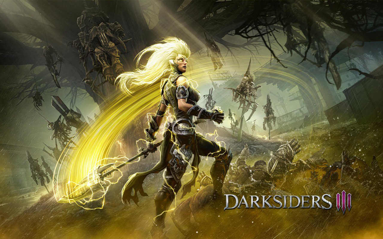 Free Darksiders III Wallpaper in 1280x800