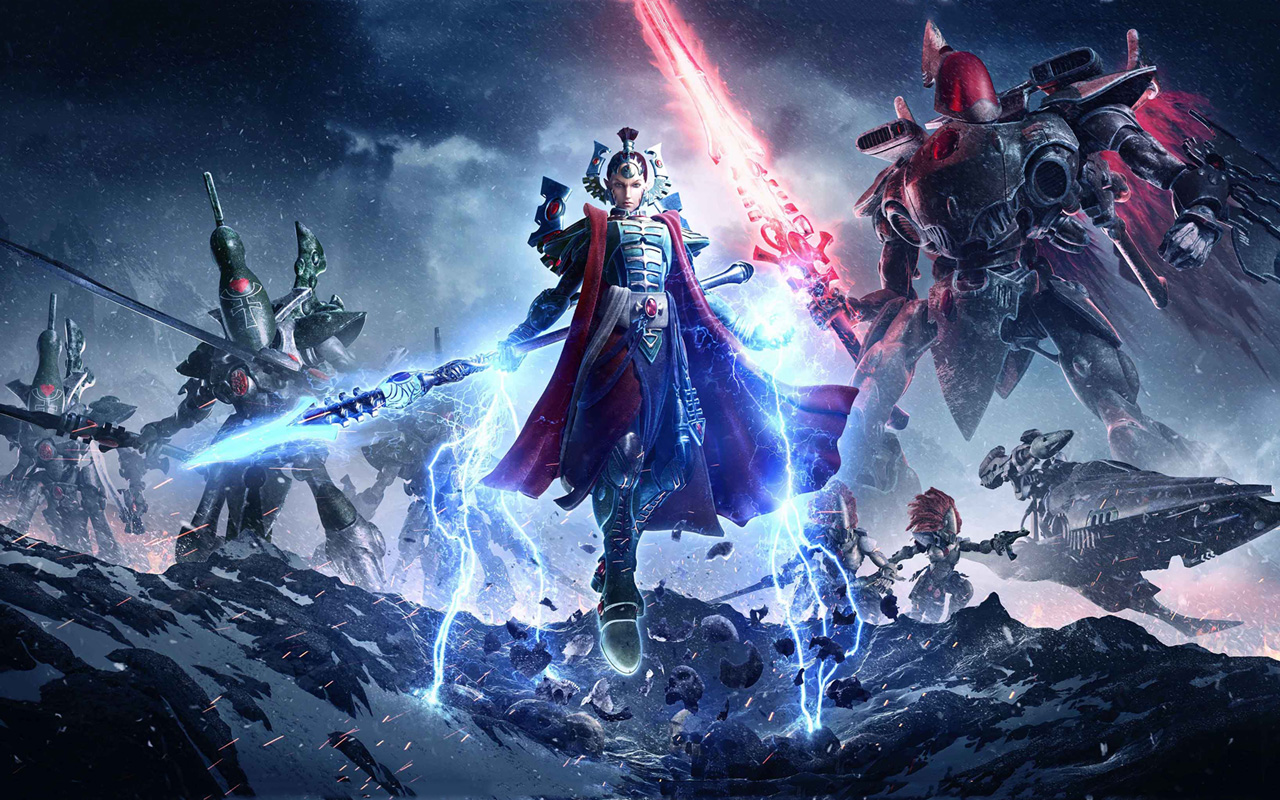 Free Warhammer 40000: Dawn of War III Wallpaper in 1280x800