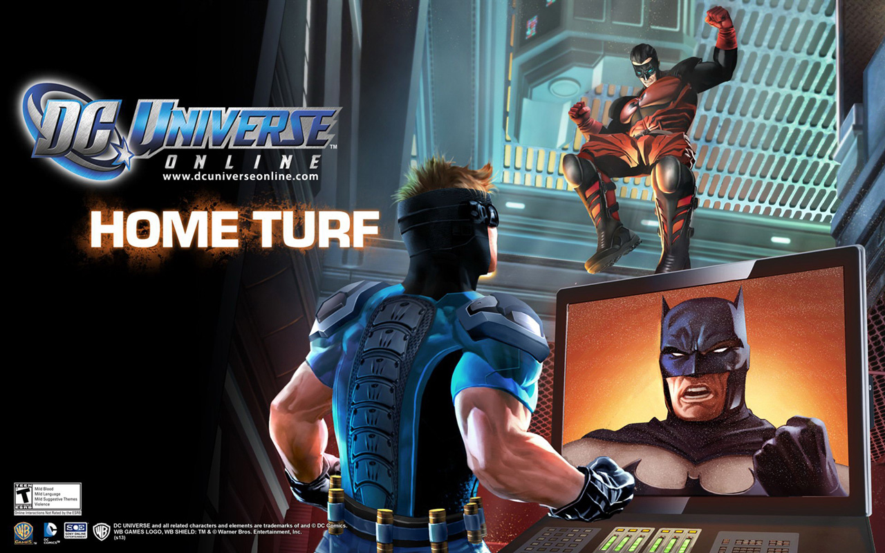 Free DC Universe Online Wallpaper in 1280x800