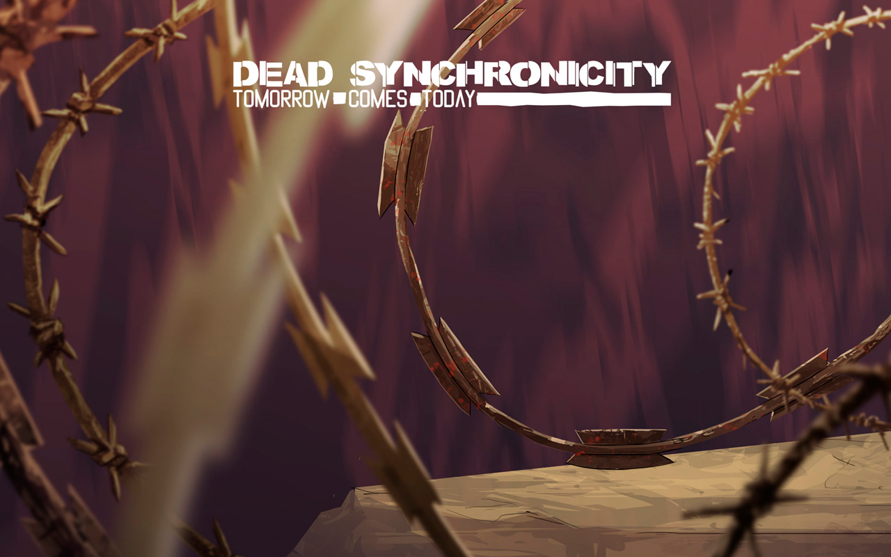 Free Dead Synchronicity: Tomorrow Comes Today Wallpaper in 1280x800