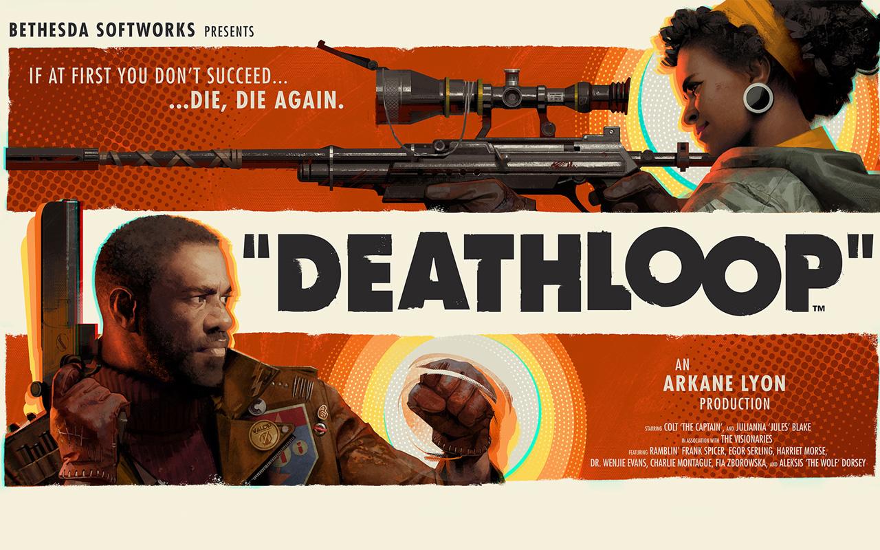 Free Deathloop Wallpaper in 1280x800