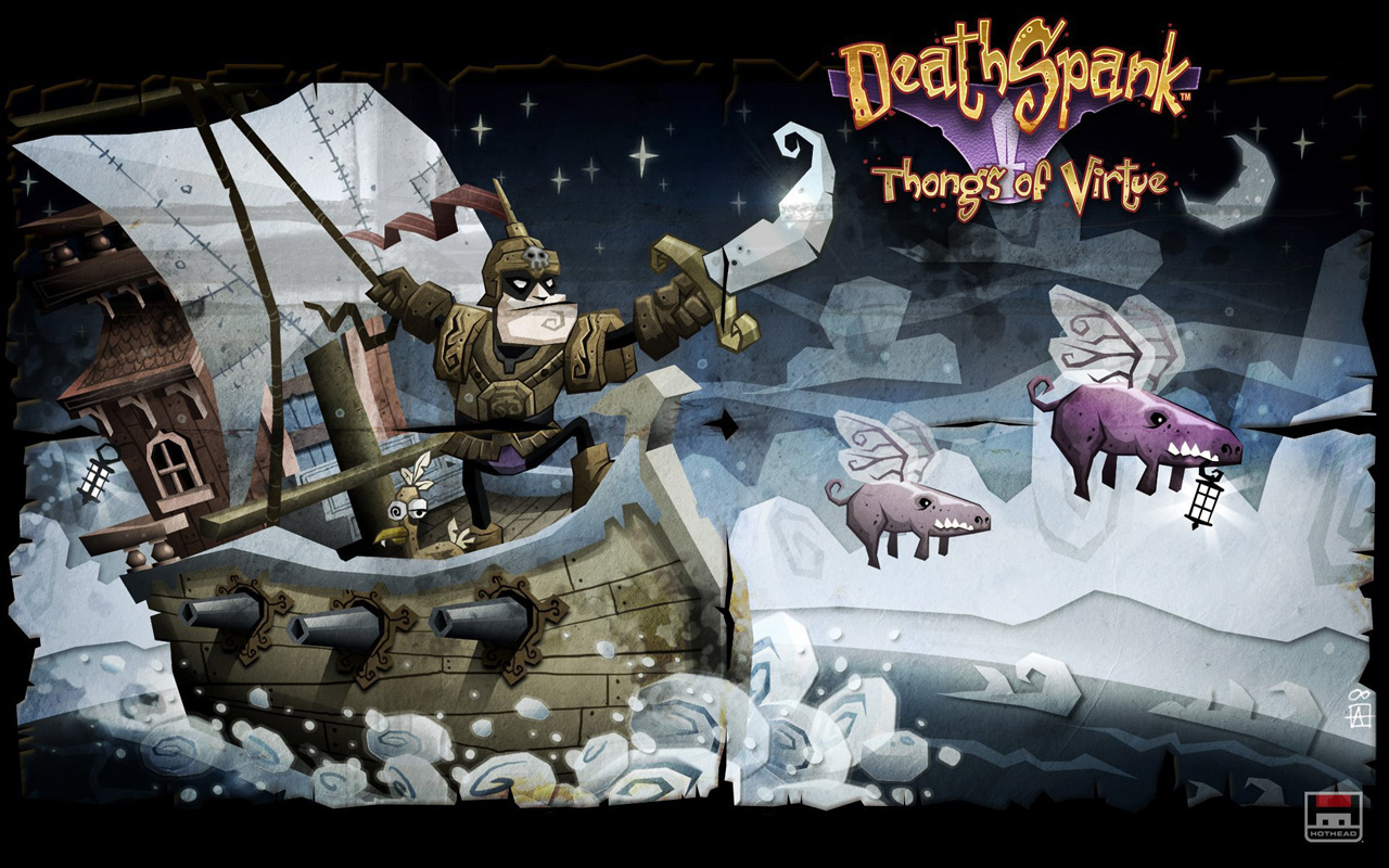 Deathspank Wallpaper in 1280x800