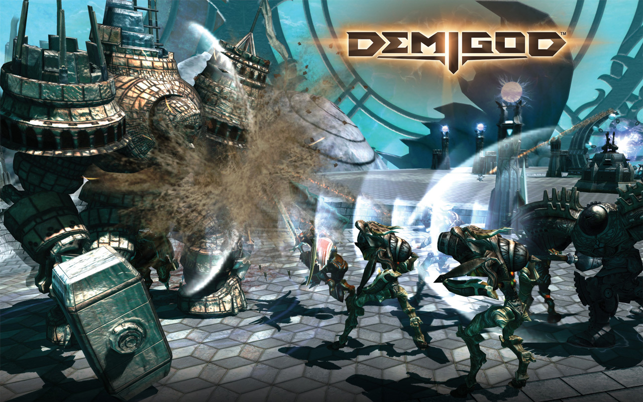 Free Demigod Wallpaper in 1280x800