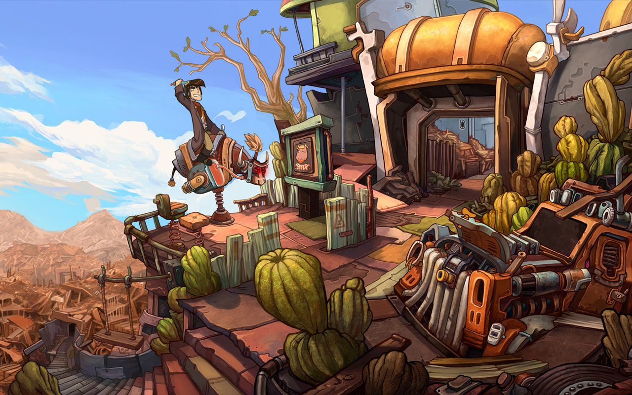Free Deponia Wallpaper in 1280x800